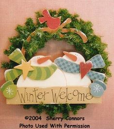Winter Welcome Wreaths, Snowmen & Frosty Friends Crafts
