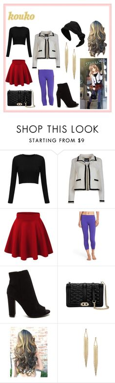 """""""Kouko"""" by dazacrystal23 on Polyvore featuring Boutique Moschino, Zella, Rebecca Minkoff and RED Valentino"""