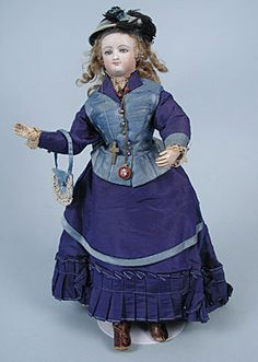 French Fashion Doll, 19th C.<br /> Session 1 - Lot 169 - $9,500.00
