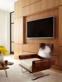 PARK + by Weitzman Halpern Design, via Behance Cabinet Inspiration, Interior Inspiration, Couch With Ottoman, Best Interior Design, Design Firms, Mid-century Modern, Furniture Design, House Design, Wall Units