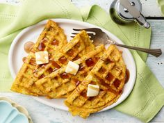 Cheddar And Herb Chaffle...   Our Best Breakfast Recipes & Ideas | Recipes, Dinners and Easy Meal Ideas | Food Network Best Egg Recipes, Best Breakfast Recipes, Low Carb Recipes, Cooking Recipes, Favorite Recipes, Brunch Recipes, Ww Recipes, Ketogenic Recipes, Kitchen Recipes