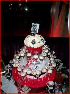 Bettie Page Birthday Cake