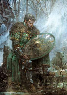 Uilleam de Swelbecky, hilderin déchu, par Gawain - Shadows of Esteren