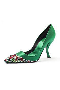 Roger Vivier Spring 2014 shoes