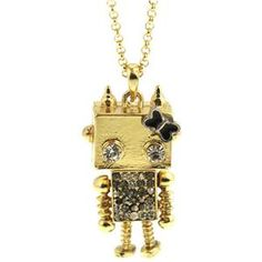 Necklace - Robot Shaped Pendant Necklace #Pariscoming #Paris #fallfashion #fallstyle #falltrends #fallingfor #fall #winterfashion #winterstyle #wintertrends #winterfor #winter #cardi #clothing #inspirational #fashionable #ontrend #stylist #Styling #StreetStyleSeason #streetstyle #fashionblog #fashiondiaries #fashiondiary #WearIt #WhatYouWear If you like,follow me back and find it on our online store.