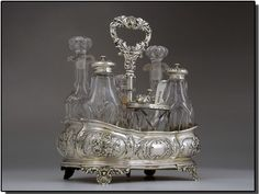 antique cruet set
