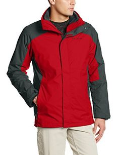 Columbia Mens Big  Tall Eager Air Interchange 3in1 Jacket RocketGraphite 1X *** Read more reviews of the product by visiting the link on the image.