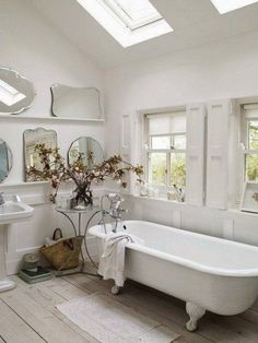 Light filled bath