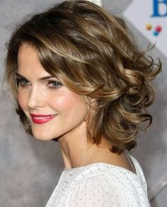 Messy Back Swept Curls- Best Medium length hairstyles