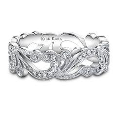Wow! How stunning is this #engagementband?! @kirkkara