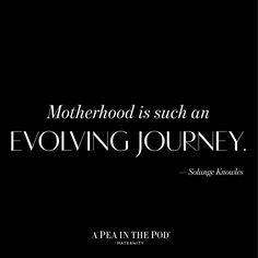 And what a beautiful journey it is. Thanks @saintrecords for this #momspiration #40weeksofchic #mondaymotivation
