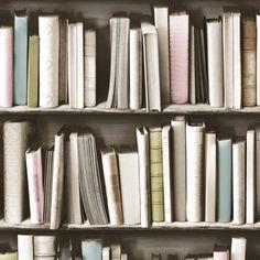 Pastel Library Wallpaper - Wallpaper - Wallpaper & Tiles - Home Accents
