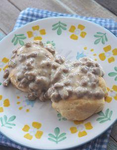 Biscuits and Gravy - Weight Watchers