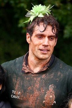 I personally would have picked out a white gardenia for your hair, just saying Cavill...lol!!! ;)