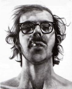 Chuck Close - Big Self Portrait, 1967-68