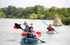 #Turistas recorriendo los ríos de #Coahuila  disfrutando al máximo de la naturaleza del norte mexicano.