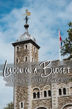 London on a Budget 38 Things to Do for Under 10 Europe On A Budget, Europe Travel Tips, European Travel, Budget Travel, Travel Guides, Europe Packing, Backpacking Europe, Packing Lists, Travel Hacks