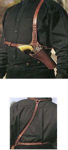 Huckleberry Shoulder Holster Rig Doc Holliday Colt SAA Leather 4 3/4