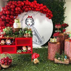 Baby Party, Baby Shower Parties, Birthday Party Decorations, Birthday Parties, Snow White Birthday, Butterfly Kids, Ideas Para Fiestas, Fiesta Party, 1st Birthday Girls