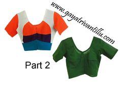 Stitching Instructions - http://www.gayatrivantillu.com/recipes-2/miscellaneous/indian-blouse