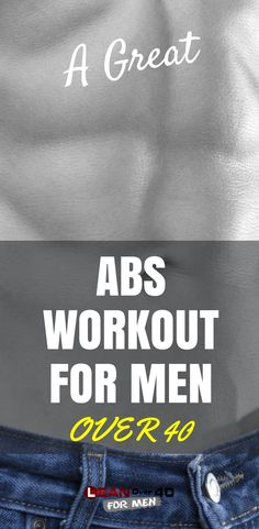 A Great Abs Over 40 Workout - Lean Over 40 For Men