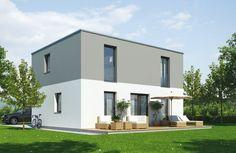Das Wels 155 von MASSIVPLUS hat eine Wohnfläche von 155m². Preis ab: auf Anfrage. Jetzt auf Massivhaus.de ansehen. Style At Home, Mansions, House Styles, Home Decor, Building Companies, Wels, Things To Do, Homes, Mansion Houses