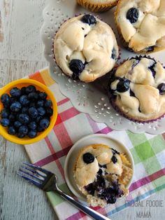 Not only are these Blueberry Zucchini Cream Cheese Muffins moist & creamy, but they also boast some hidden veggies making them healthier.