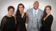 "Dwayne Johnson on Fatherhood: ""Lead Life With Love"""