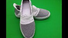 cici anne'nin yeni patik modelleri örgü ayakkabı yapımı - YouTube Crochet Slipper Pattern, Crochet Shoes, Crochet Slippers, Flip Flop Sandals, Shoes Sandals, Dress Shoes, Sock Shoes, Oxford Shoes, Sneakers