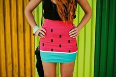 I like this watermelon skirt :)