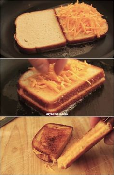 Sublime Sandwich Glory: How to Make the Inside and Out Grilled Cheese Sandwich