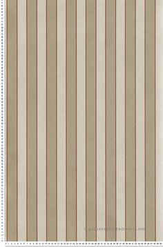 #papier-peint Papier peint Rayures Tricolores Grenat, beige et Ecr Lutèce : Papier peint chambre, entrée, pièce à vivre à rayures http://www.papierspeintsdirect.com