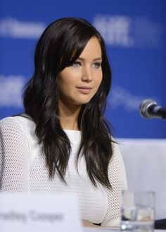 Jennifer Lawrence at the photocall and press conferernce for The Silver Linings Playbook at TIFF