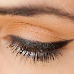 Learn the pro #beauty trick to creating the perfect line of #eyeliner everytime. | Health.com