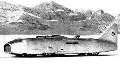 GEORGE EYSTON THUNDERBOLT AERO ENGINED WORLD LAND SPEED RECORD CARS WIND INVENTORS PATENTS