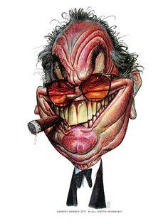Caricaturas en Barcelona, Jack Nicholson