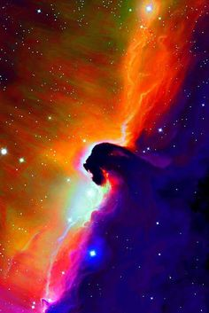 Closeup of the #HorseheadNebula