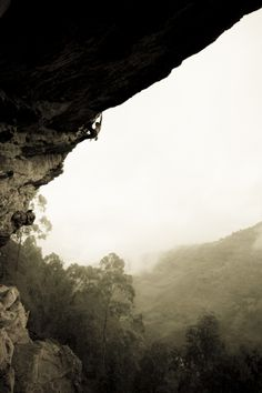 Rock Climbing by Agustina Lallana, via Behance