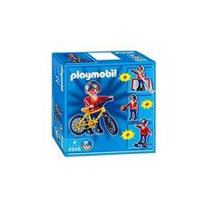 Playmobil figur med udstyr til både at spille hockey, basketball, stå på skateboard og køre på cykel. City Life, Skateboard, Hockey, Playmobil, Skateboarding, Skate Board, Field Hockey, Ice Hockey, Skateboards