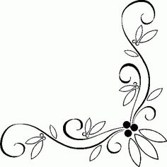 Border,Corner,Center Floral Patterns for Your Embroidery Works . Embroidery Works, Hand Embroidery Patterns, Beaded Embroidery, Embroidery Designs, Boarder Designs, Page Borders Design, Flower Border Clipart, Drawing Borders, Stencil