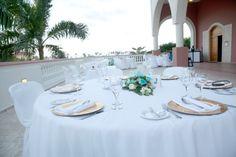 Beautiful reception decor #DreamsPuntaCana #DominicanRepublic #Destinationwedding