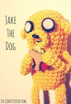 Время Приключений пса по имени Джейк: Нам понадобится: Пряжа Vit Cotton Coco желтого цвета Крючок №2 .