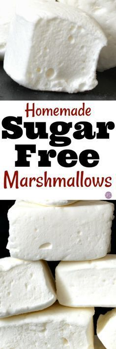 The best homemade recipe for sugar free marshmallow! So delicous and easy to do! this is How to Make Sugar Free Marshmallows, keto friendly. Sugar Free Sweets, Sugar Free Recipes, Candy Recipes, Dessert Recipes, Sugar Free Foods, Sugar Free Drinks, Sugar Free Snacks, Sugar Free Candy, Sugar Free Twizzlers