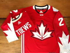 Looking for a World Cup of Hockey Canada Toews Jersey? Stop by the #BlackhawksStore today!