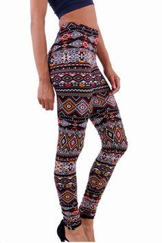 Aztec Leggings|Leggings|Bottoms| Sweet Magnolias Boutique