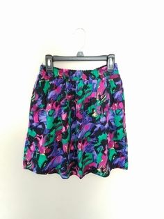 XS Mossimo Colorful Skirt