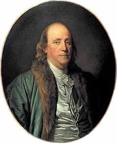 Benjamin Franklin, was an American diplomat who played a key role for the Independence of America. With the help of other diplomats, he craftily exploited France's rivalry with the British, causing an alliance between America and the French. Famous Vegans, American Revolutionary War, Colonial America, Benjamin Franklin, Interesting History, God Bless America, Founding Fathers, Early American, World History