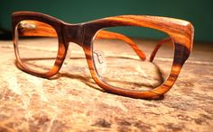 wooden glasses from urban spectacles.