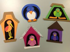 Spectacular Story Time: Flannel Friday: A Home for Birdie Flannel Board Stories, Felt Board Stories, Felt Stories, Flannel Boards, Orange Bird, Flannel Friday, Ecole Art, Bird Theme, Spring Theme