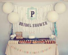 Vintage Romantic Bridal Shower | Sugar Buffet Studio